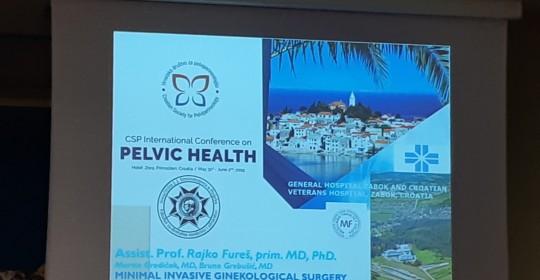 Predavanje Viktorije Mišure na konferenciji pelvičnog zdravlja u Primoštenu
